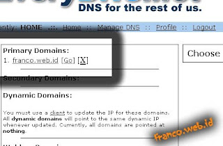 Setting Domain Web.id ataupun Domain Berbayar Lainnya di Blogspot+Redirect