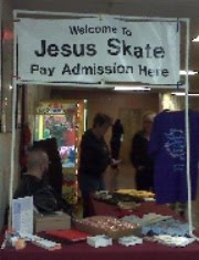 JESUS SKATE PARTY