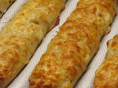 Mozzarella Cheese Bread Sticks