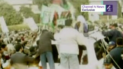New Bhutto's Assassination Video released on Channel 4