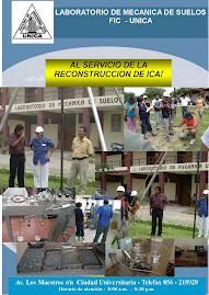 Laboratorio de Mecanica de suelos de la FIC