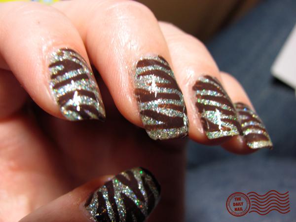 The Amusing Pretty zebre nail designs Photo