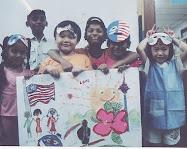 佐镒和绘画班的小朋友