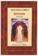 Meteore (copertina del bel libro di Olga Stella Cometa) BRAVA POETESSA ROMANA RESP. di A.C.R.!