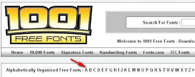 free font