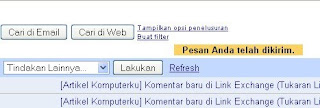 pesan Gmail Sukses