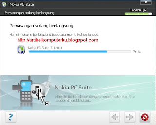 setting nokia pc suite