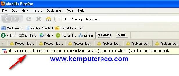 Cara blok situs porno asusila menggunakan firefox for Input keyword disini perbaris ya
