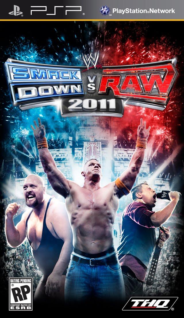WWE SmackDown! vs. RAW 2011 (2010) PSP EN