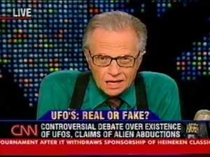 """סקפטים ומאמינים בעימות - האם עב""""מים אמיתיים ? - כל התוכניות של לארי קינג ברשת CNN"""