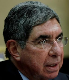Costa Rican President Oscar Arias. (FILE Photo / Reuters)