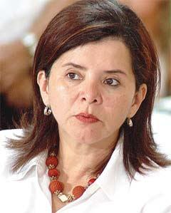 Health Minister Maria Luisa Avila (Photo: Prensa Libre)