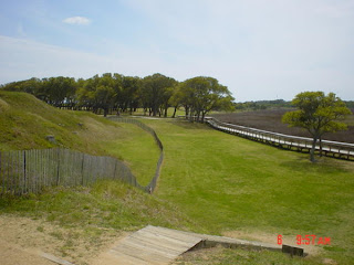 fort fisher battlefield mounded fort