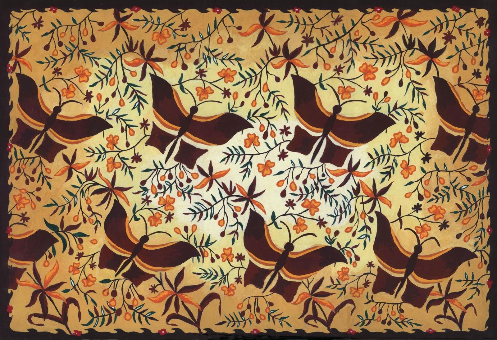 sejarah batik indonesia batik secara historis berasal dari zaman nenek ...