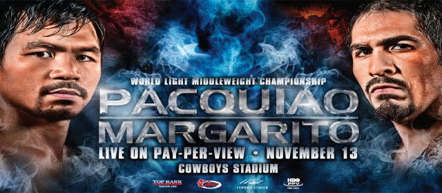 Margarito vs Pacquiao | Manny Pacquiao vs Antonio Margarito - Live Streaming