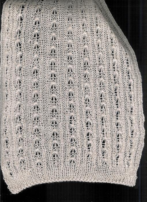 Knitting Rib Stitch On Circular Needles : Marzipanknits full needle rib tuck stitch scarf