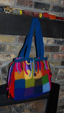 Patchwork Felted Satchel