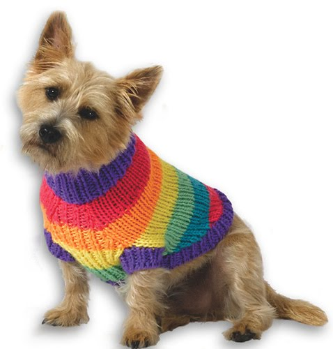 Marzipanknits Machine Knit Puppy Sweater