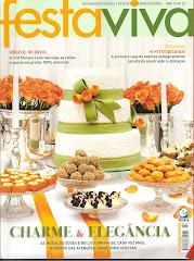 Revista Festa Viva- Casamento no Terraço Itália- SP/ março 2010