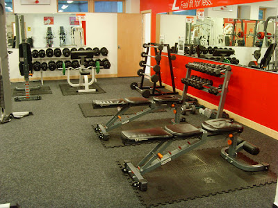 Gyms with Weights   Area in Dublin