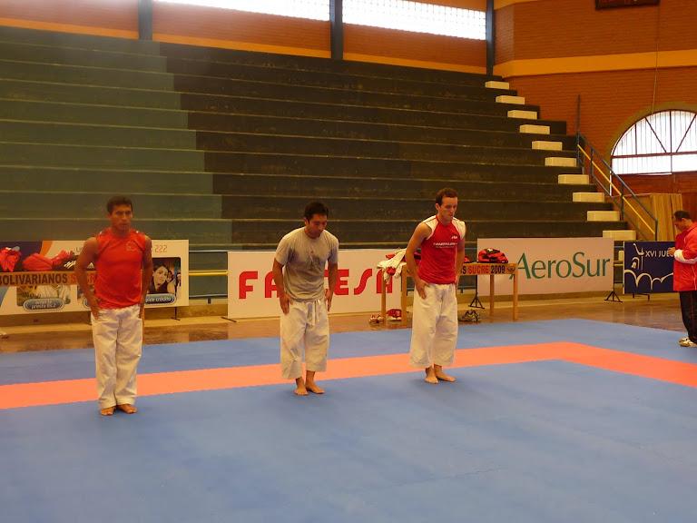 entrenamiento de los juegos bolivarianos