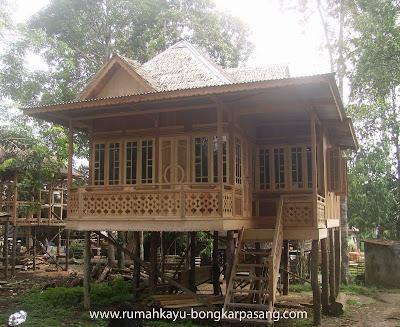 rumah kayu murah
