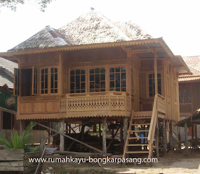 rumah tradisional palembang