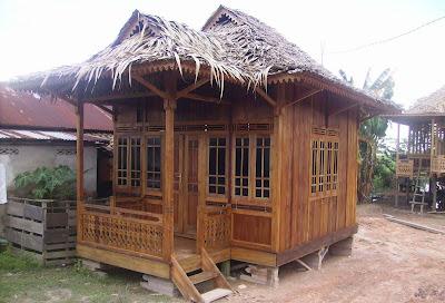 rumah kayu panggung