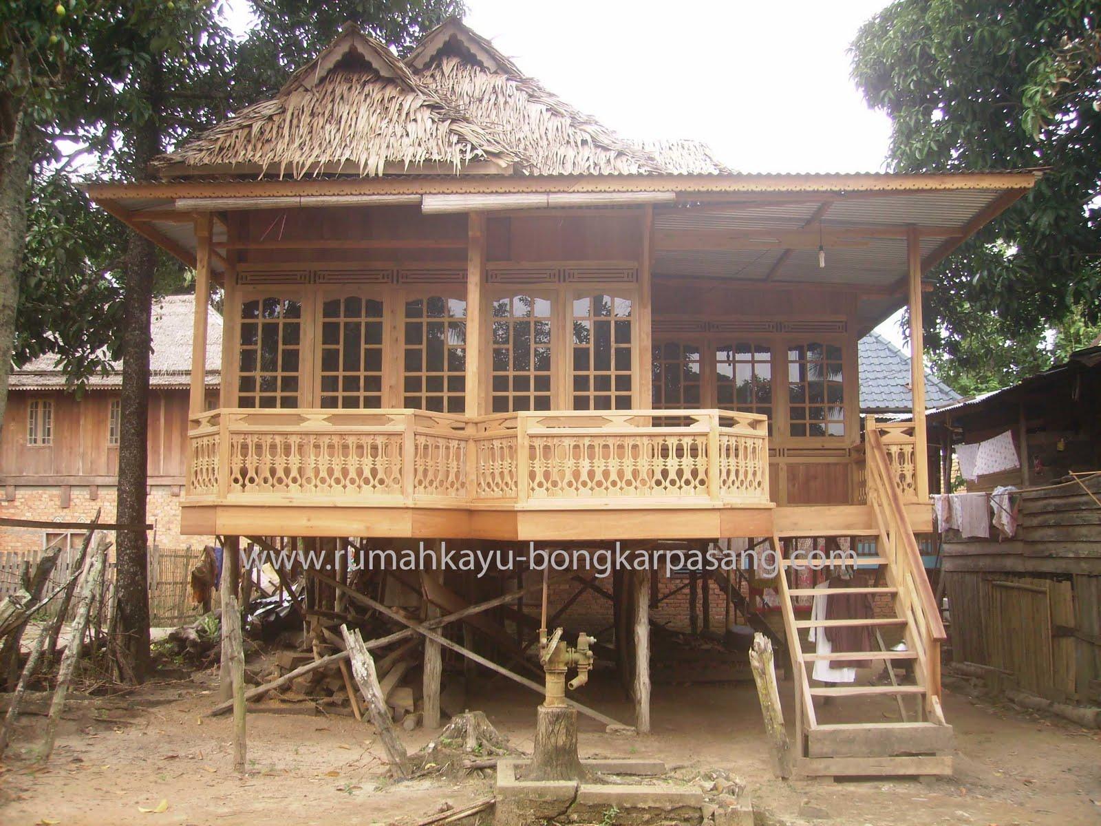 Rumah Kayu Type 52 KI A