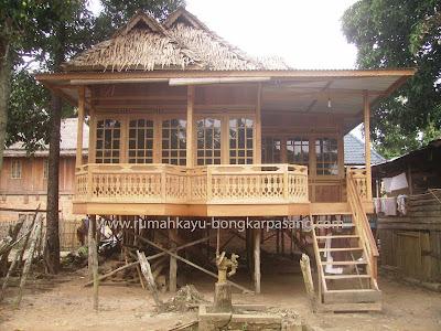 rumah kayu type 52