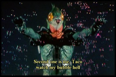 Second one is me, Taco watch my bubble hell