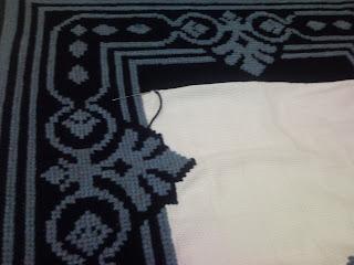 tapete arraiolo azul 5