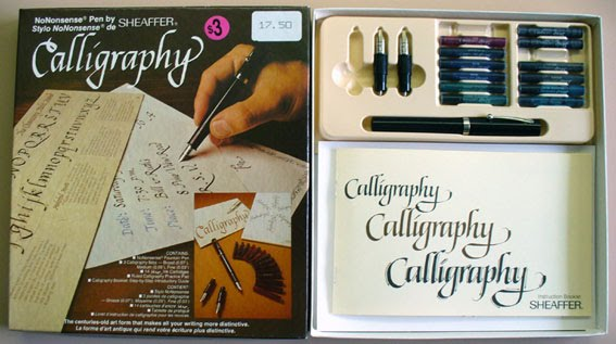 A Penchant For Paper Garage Sale Calligraphy