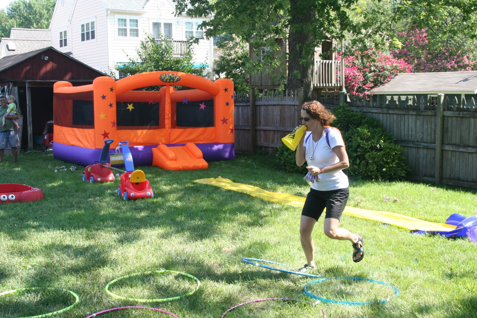 connor and helen grow up the great obstacle course birthday party