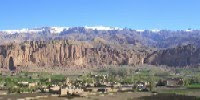 Bamyan, Salsal on the left & Shamama on the right