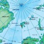 Spitsbergen, Svalbard, Map, Schematic
