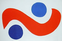 Alexander Calder Spiral 1974