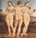 Three Graces Raphael
