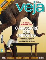 Veja cover, October 2006