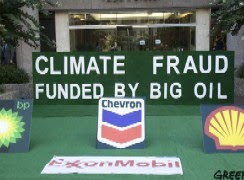 Climate Fraud Funded By Big Oil