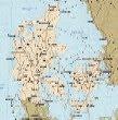 Samsø Denmark map