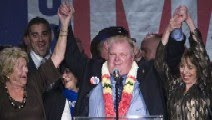 Rob Ford w mother Diane & wife Renata