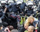 G20 Police Brutality