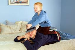 Dad & Gabriel December 2007 West Jordan