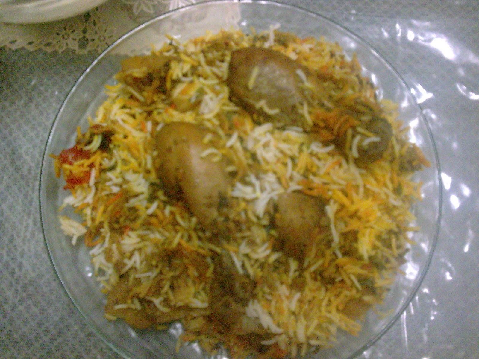 Pakistani Food Chicken Biryani