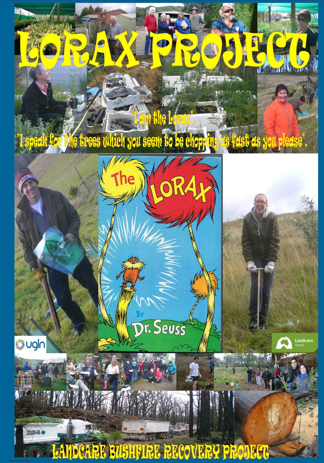 the lorax project The lorax, dr seuss • access to the lorax project website-   com/loraxproject/ • poster -making materials: markers, paper,.
