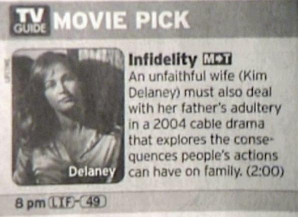 Infidelity lifetime movie