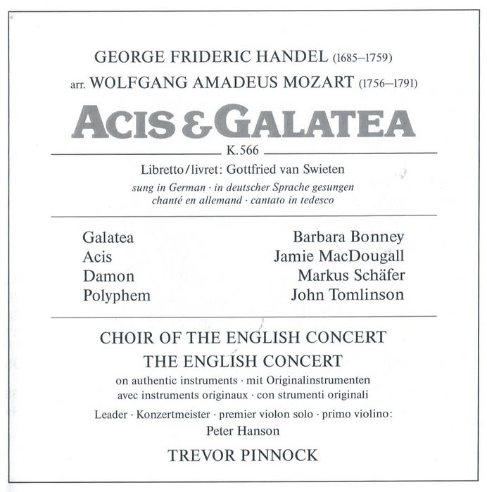 handel acis and galatea