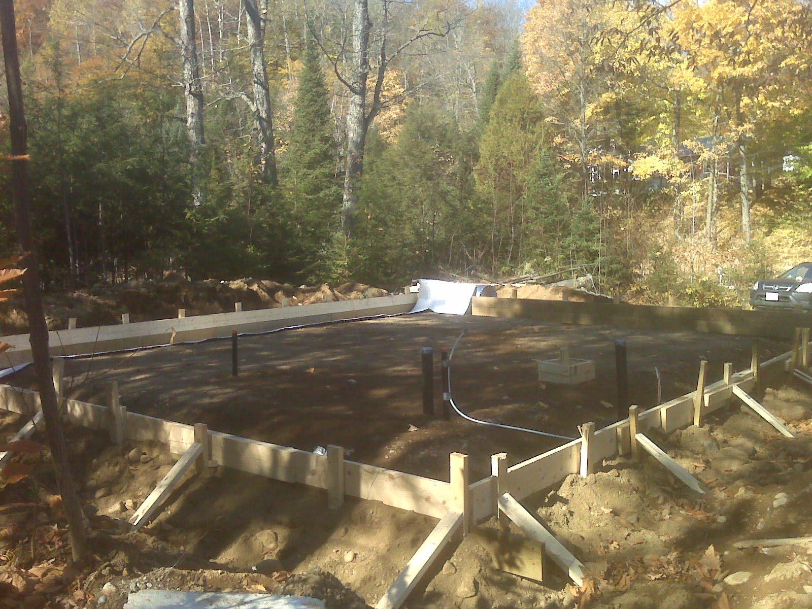 Monolithic Concrete Slab : My second estate monolithic slab foundation