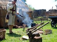 Mediaeval fire starter